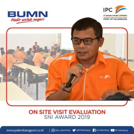 IPC Palembang Menuju World Class Port 2020