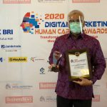 IPC TPK Sabet  Penghargaan Digital Marketing & Human Capital Award 2020